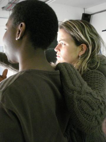 Gina and Mickel by Tanvir Bush