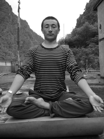RS Yoga in the morning by Tanvir Bush