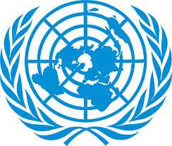 Blue United Nations Logo