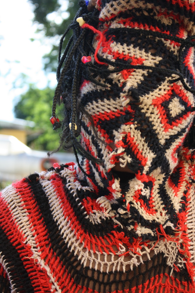 Makishi dancer 1 2009 by Tanvir Bush