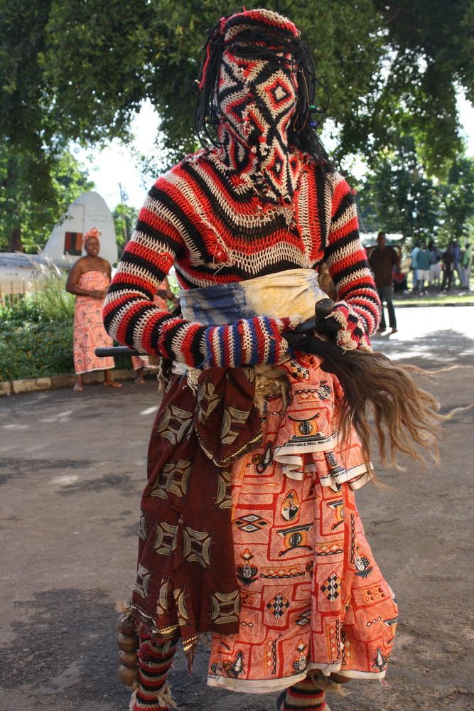 Makishi dancer 3 2009 by Tanvir Bush