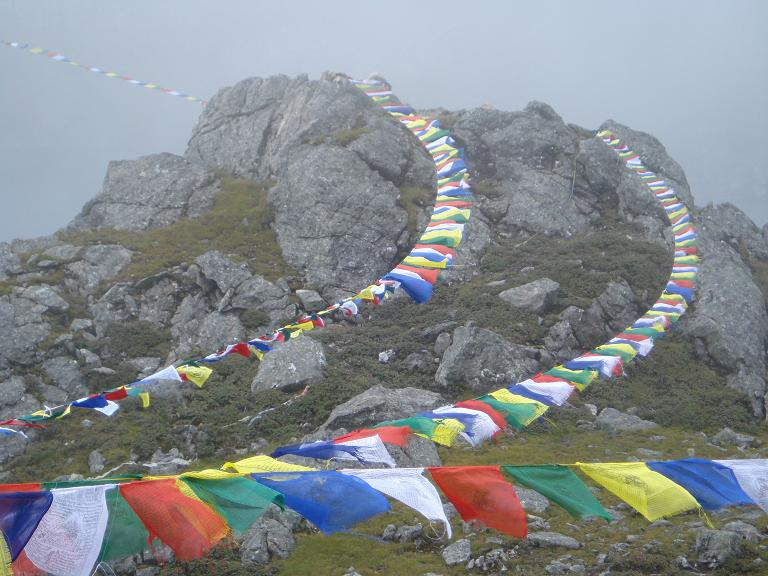 RS Prayer Flags 2 by Tanvir Bush